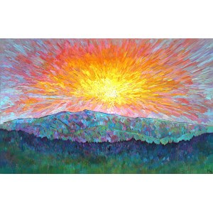 Monika Siwiec, Rising sun, 2021
