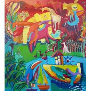 Natalia Nasada-Wojtal, Wyspa kolorowa, 2021