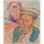 Wincenty Wodzinowski(1866-1940),Para chłopska