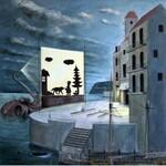 Adam Swoboda,Teatr ośmiornicy,80x80cm