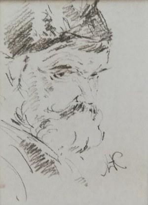 Wlastimil Hofman(1881-1979),Studium starca