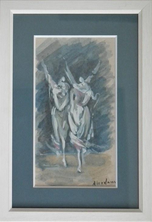 Alfred Aberdam(1894-1963),Dwie postaci