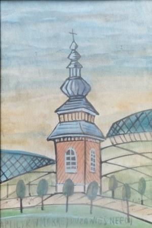 Nikifor Krynicki(1895-1968) ,Kapliczka
