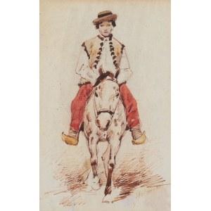 Juliusz Holzmüller (1876 Bolechów – 1932 Lwów), Chłopiec na koniu