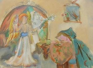Kasper Pochwalski (1899 Kraków - 1971 tamże), Zwiastowanie, l. 50.