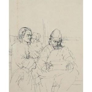 Tadeusz Kulisiewicz (1899 Kalisz-1988 Warszawa), Rodzina czytająca list