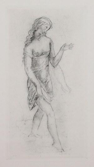 Eugeniusz Zak (1884 Mogilno – 1926 Paryż), Idąca kobieta