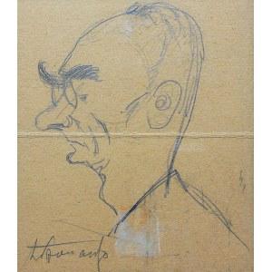 Zbigniew Pronaszko (1885 Debreczyn - 1958 Kraków), Portret mężczyzny