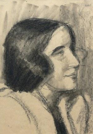 Wojciech Weiss (1875 Leorda na Bukowinie - 1950 Kraków), Portret kobiety