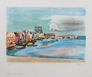 Henryk Hayden (1883 Warszawa - 1970 Paryż), Port de Barfleur, 1948 r.