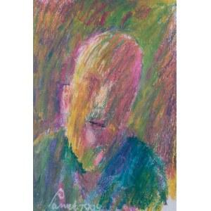 Jerzy Panek (1918 Tarnów-2001 Kraków), Autoportret, 1999 r.