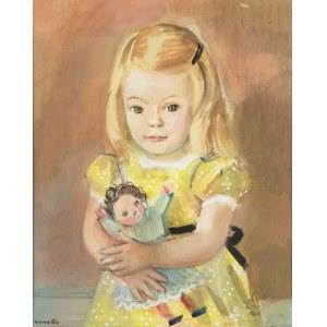 Rajmund Kanelba (1897 Warszawa - 1960 Londyn), Dziewczynka z lalką