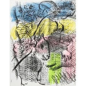 Marc Chagall (1887 Łoźno k. Witebska-1985 Saint-Paul de Vence), Kobieta z kozą, 1970 r.