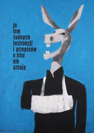 Waldemar Świerzy (1931 Katowice-2013 Warszawa), Ja tam żadnych instrukcji i przepisów o BHP nie uznaję, 1959 r.
