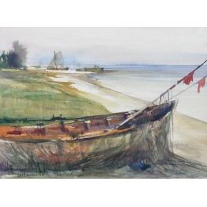 Henryk Baranowski (1932 Starogard Gdański - 2005 Gdynia), Jastarnia, 1985 r.
