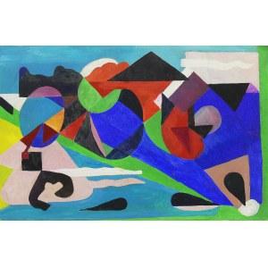 Zdzisław Cyankiewicz (1912 Białystok - 1981 Paryż), Kompozycja