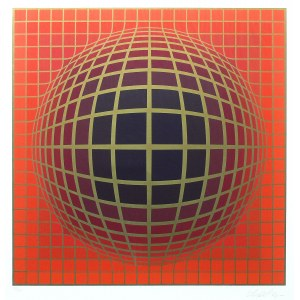 Victor Vasarely (1908 Pécs - 1997 Paryż), Kompozycja