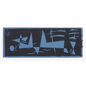 Jonasz Stern (1904 Kałusz - 1988 Zakopane), Kompozycja abstrakcyjna