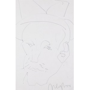 Marian Czapla (1946 Gacki-2016), Portret mężczyzny