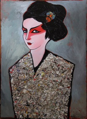 Agnieszka Boroń, Kabuki, 2017