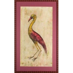 Iza STARĘGA (ur. 1964), Kolorowy ptak, 2004