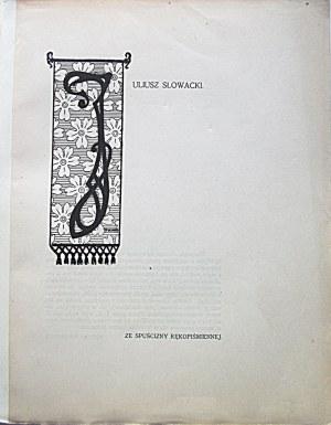 CHIMERA. W-wa, kwiecień - maj 1901. Tom II. Zeszyt 4/5. Format 19/24 cm. s. 360. Grzbiet podklejony płótnem...
