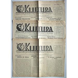 KULTURA. W-wa, 1 maja 1932. Rok II. Nr 18 (23). s. 4. Ślady składania