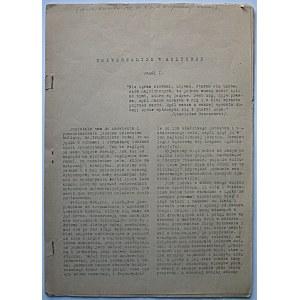 SZTUKA I NARÓD. [W-wa, kwiecień? 1943. Nr.7. Wydawnictwo Konfederacji Narodu]. Brak obu okładek...