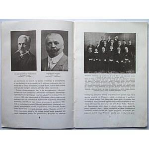 """50 LAT 1886 - 1936. Na Złote Gody Towarzystwa Śpiewaczego """"LUTNIA"""" im. Piotra Maszyńskiego w Warszawie..."""