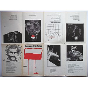 [AFISZ]. New York. [1982?]. Published by Committee in Suport of Solidarity. Drawings by Andrzej Dudziński...