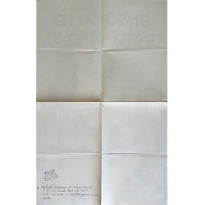 [PLAKAT. Le calme régne en Pologne. Paryż 1981/82. Imprimerie EMF. Format 41/64 cm. Druk jednostronny...
