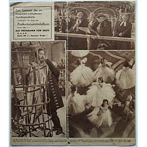 [PROGRAM]. Das Programm von Heute mit Künstlerpostkarte. Nr 625. 8 Jahrgang. Jud Süse. Berlin 1939...