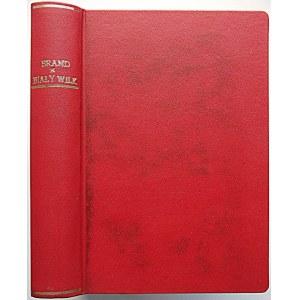 """BRAND MAX. Biały wilk. Powieść. W-wa [1938]. Wydawnictwo J. Przeworskiego. Druk. Zakł. Graf. """"FENIKS""""..."""