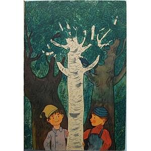 BRZECHWA JAN. Poszła w las nauka. Ilustrował Ignacy Witz. W-wa 1956. Wyd. Liga Ochrony Przyrody. Druk...