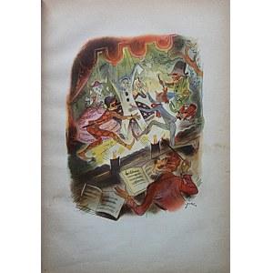 COLLODI C. Pinokio. Przygody drewnianego pajaca. Tłumaczyła z oryginału włoskiego Zofia Jachimecka...