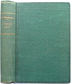 DOŁĘGA - MOSTOWICZ TADEUSZ. Trzecia płeć. Wydanie trzecie. New York [ok. 1946]. Roy Publishers...