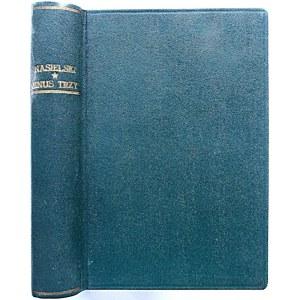 """NASIELSKI ADAM. Minus trzy. Powieść. W-wa [1937]. Wydawnictwo """"Nowa Powieść"""". Druk. """"Popęd"""". Format 13/17 cm..."""