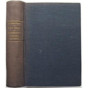 NASIELSKI ADAM. Piąty temat. Powieść. Tom I - II. Poznań 1937. Biblioteka Dziennika Poznańskiego nr 10. Druk...