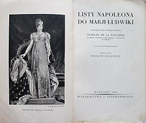 [NAPOLEON]. Listy Napoleona do Marji - Ludwiki...