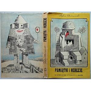 OTWINOWSKI STEFAN. Pamiątki i herezje. Kraków 1968. Wydawnictwo Literackie. Druk. Krakowskie Zakł. Graf. Nr 1...