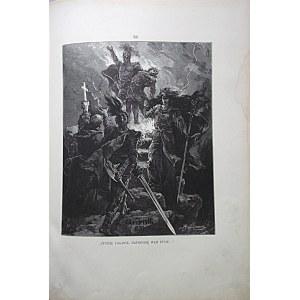 SŁOWACKI JULIUSZ. Lilla Weneda. Tragedya w pięciu aktach. Przez [...]. Illustrował A. M. Andriolli. W-wa 1883...
