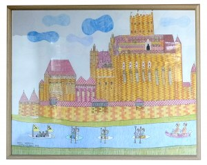 Paweł Garncorz, Zamek w Malborku