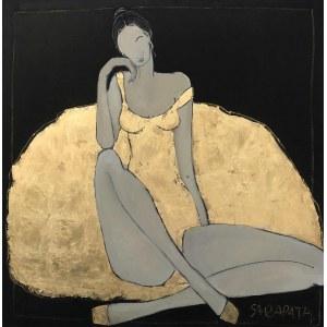 Joanna Sarapata, Ecole de Paris - Gold, 2021