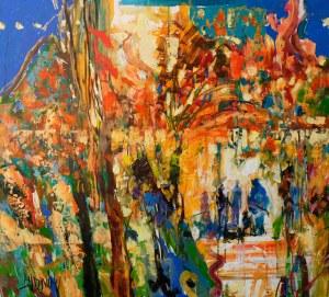 Krzysztof Ludwin, Rozmawialiśmy w parku. Czerwone i żółte liście szumiały, 2021
