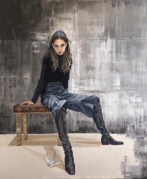 Ewa Sławniewicz, Cigno nero in me, 2021