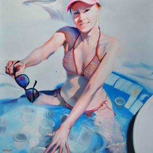 Rafał Knop, Madame-Ev17 (Swimming Pool), 2020