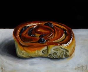Szymon Kurpiewski (ur. 1984), Cinnamon bun, 2021