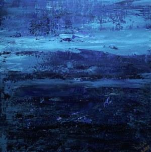 Izabela Drzewiecka (ur. 1966), Skandynawski pejzaż, 2021
