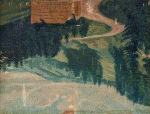 Kokoszko Edward (1900-1962), Panorama Tatr, lata 30. XX w.