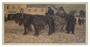 Kotowski Jan Erazm (1885 – 1960), Rewizor w kresowym miasteczku, lata 20. XX w.